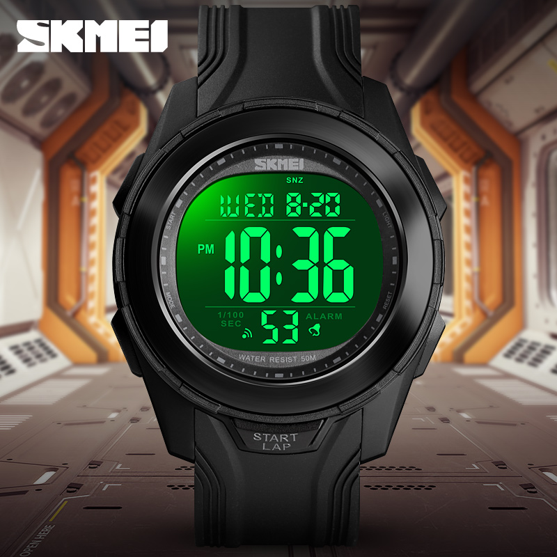 Sport Men's Digital Watch Top Brand <font><b>SKMEI</b></font> Men Watches Luxury Count down Chronograph Sports Wristwatch For Boy Fashion Mens Clock image