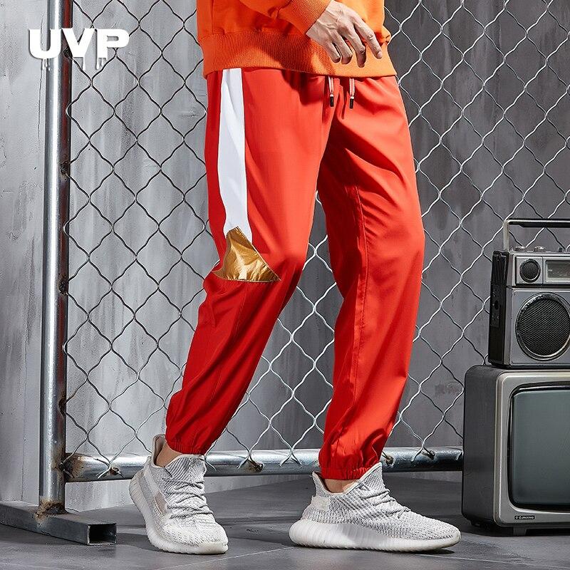 Jogging Pants Men Sweatpants Male Tracksuit Bottoms Casual Pants Men's Trousers 2019 New Reflective Pants Men Elastic Waist Pant