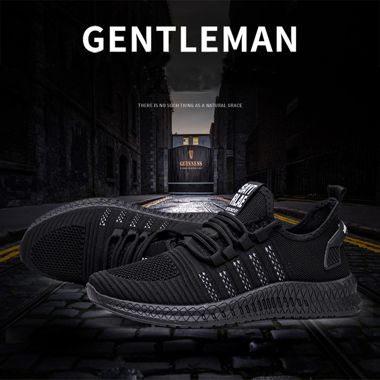 H9c7aa6729b924e58a2e07c693a7ffcb8I - New Mesh Men Sneakers Casual Shoes Lac-up Men Shoes Lightweight Comfortable Breathable Walking Sneakers Zapatillas Hombre