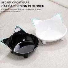 Puppy-Feeder Pet-Supplies Dog-Bowl Pet-Cat Feeding Water-Food Cute Plastic Bpa-Free