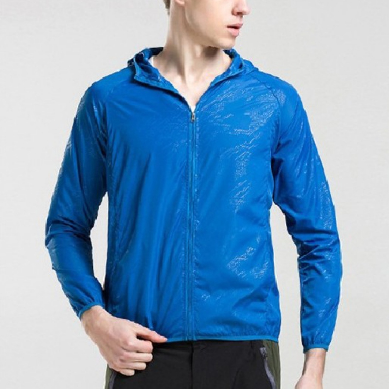 Unisex Quick Dry Hiking Jackets  Sun-Protective Waterproof Durable Outdoor Sports Coats Skin Male Female Windbreaker