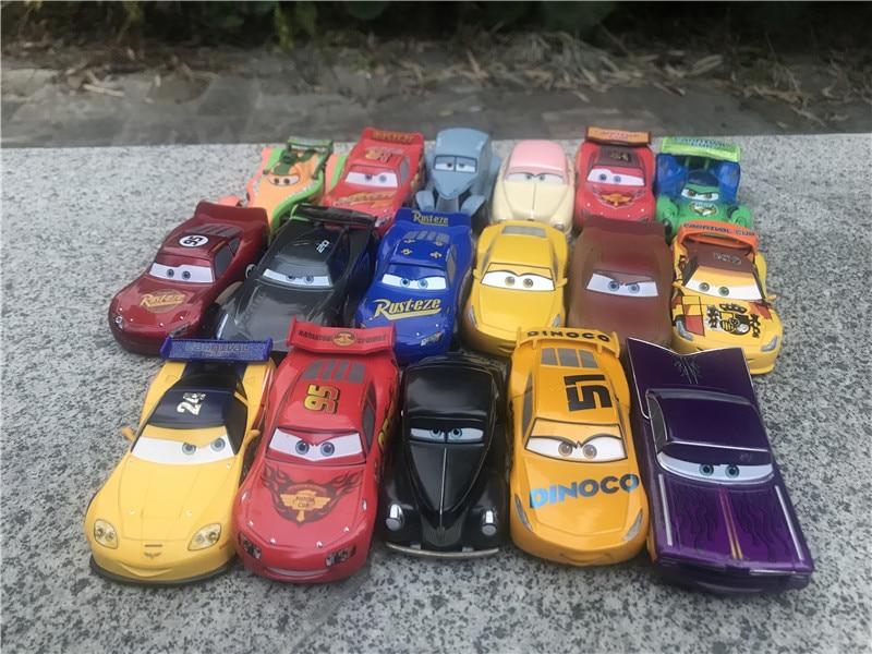 Disney pixar carros 1:43, tamanho grande, metal diecast modelo louise nash/rio/júor/cruz/jackson no pacote com embalagem