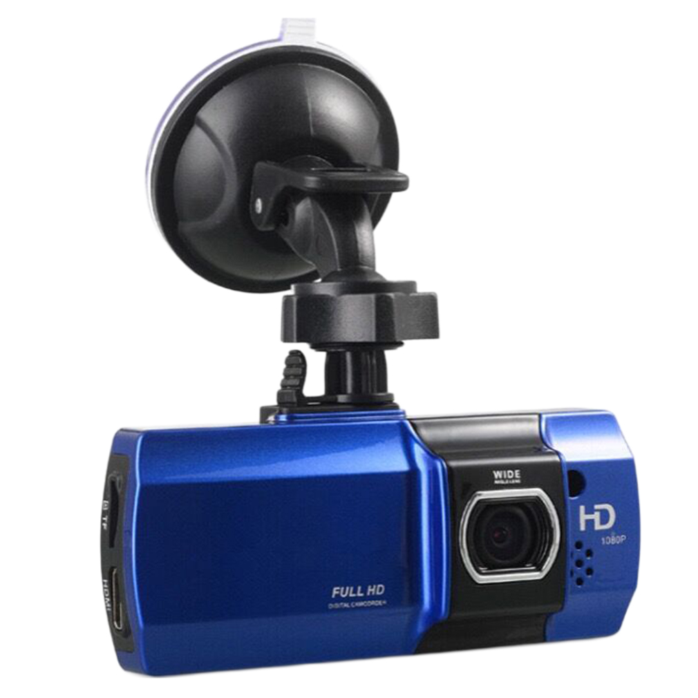 Professional 2.7'' Screen TFT Display 148 Degree Wide Angle 1080P Smart Car DVR Camera Auto Vehicle Video Recorder Blue