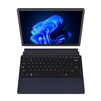 KUU Metal 12 Inch 2K Touch Screen 2 in 1 Laptop Intel Celeron Quad Core LPDDR4 8GB 256GB SSD Storage Windows 10 Dual WiFi Type C 2