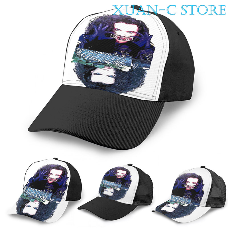 Adult Mesh Caps Hats Adjustable for Men Women Unisex,Print Leaf