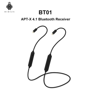 Image 1 - HIDIZS BT01 APT X HiFi Audio 4.1 Bluetooth Receiver Portable Premium Bluetooth cable with 2pin/0.78mm made for MS4 MS1