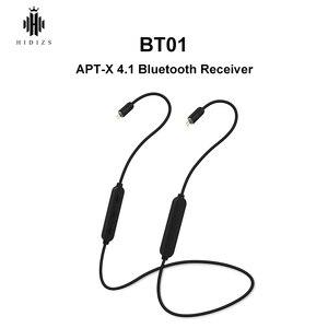 Image 1 - Hidizs BT01 APT Xハイファイオーディオ4.1 bluetoothレシーバーポータブルプレミアムサウンドワイヤレスbluetoothケーブル2/0.78ミリメートルのためのMS4 MS1
