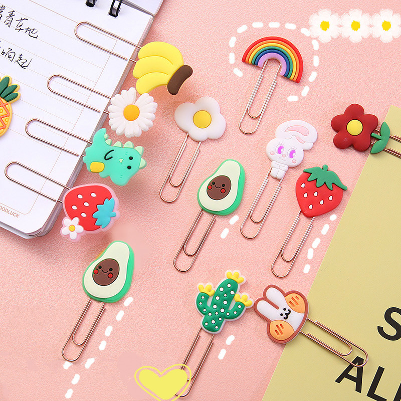 Mohamm Cute Paper Clips Funny Paperclips Bookmarks Planner Clips for Fun Office Supplies School Gifts