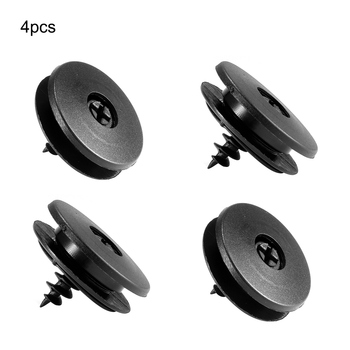 Universal 4 Pcs Self-fixing Floor Mat Clips Carpet Clamps Buckles for Toyota image