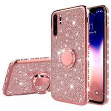 Finger Ring Diamond Soft Case For HUAWEI P20 P30 Lite Pro P Smart 2019 Z P10 Nov
