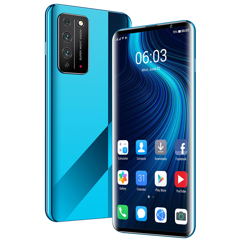 Cell Smart Phones X10Pro Smartphone 6.8inch 8core 128GB Snapdragon 855 Android 10 Cellphone Dual SIM Mobile Phone Free Shipping