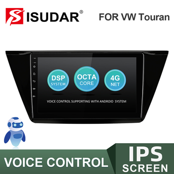 ISUDAR V57S Android Autoradio For VW/Volkswagen/TOURAN 2016 Stereo Receiver Car Radio with Screen CANBUS DSP IPS Camera No 2 Din