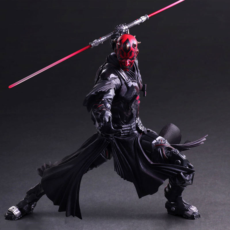 Star Wars: The Force Awakens Darth Maul 26cm Anime Figure Doll Collections Children Toys Gift 1