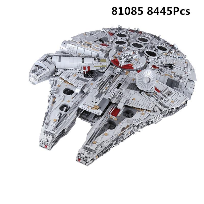 KING 81085 (05132) набор Звездный Разрушитель Сокол Миллениум Совместимость с 75192 кирпичи комплект строительство день рождения развивающие игрушки войны|Блочные конструкторы|   - AliExpress
