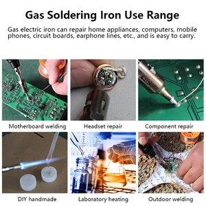 Image 5 - Good Quality MT 100 Gas Soldering Iron Electric Soldering Iron Gun Blow Torch wireless outdoor  Cordless DIY Butane Gas Gun IRON