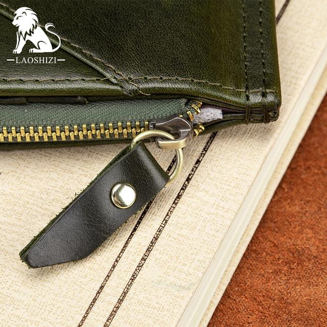 Long clutch wallet for male