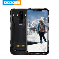 IP68 DOOGEE S90 Pro Modular Rugged Mobile Phone 6.18inch Display 12V2A 5050mAh Helio P70 Octa Core 6GB 128GB 16MP+8MP Android 9