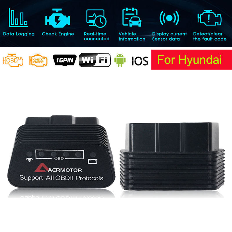 Hyundai i10 i20 i30 i40 ix20 ix35 Sonata Fault Code Diagnostic Reader Scanner