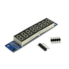 MAX7219 8 Digit Digital Tube LED Display Dot Matrix Control Module For Ardui 3.3V 5V Microcontroller Serial Driver 7-segment(China)