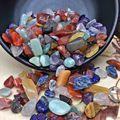 100 г/лот красочный домашний декор натуральный кварцевый кристалл Камень Каменные чипсы лечебные образцы кварцевый камень подарки для сбора
