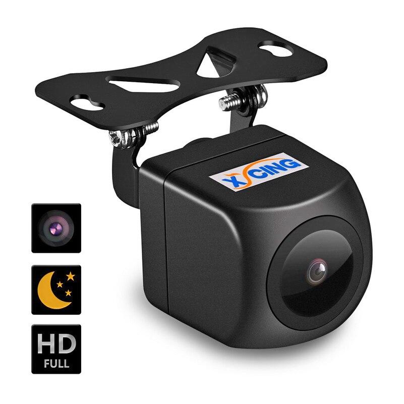 XYCING 170 درجة زاوية HD السيارات كاميرا الرؤية الخلفية سيارة عودة عكس كاميرا عين سمكة للرؤية الليلية HD مساعد صف سيارة كاميرا