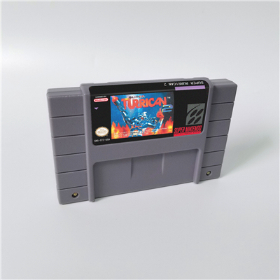 Super Turrican Of Super Turrican 2   Action Game Card Us Version Engels Taal
