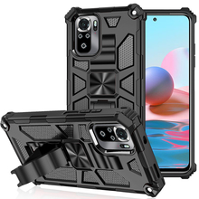 Luxury Shockproof Armor Ring Case For Xiaomi Redmi note 10 10S 9 9S Pro Max Redmi 9 9A 9C Magnet With Phone Holder Stand Case