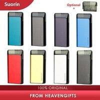 Оригинальный комплект системы Suorin Air Plus Pod с 930 мАч встроенным аккумулятором и 3,5 мл баком электронной сигареты Pod Vape Kit электронная сигарета vs...