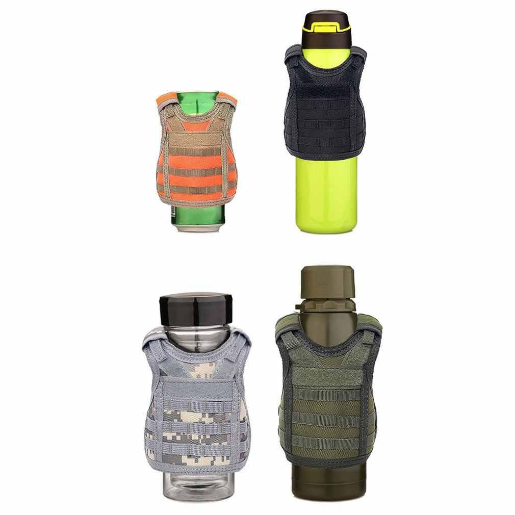 Garrafa de água copo protetor garrafa de cerveja ornamento mini colete personalidade decoração barra pequeno colete profissional