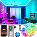 Bluetooth Led Strip 5V USB 1M-10M 5050 USB Led Strips Light RGB Led Diode Ribbon Lamp For Decoration Bedroom TV BackLight