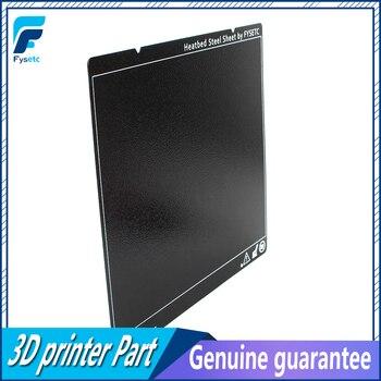 Prusa i3 MK3 MK52 negro de doble cara texturizada PEI hoja de acero en polvo recubierto PEI hoja de construcción para Prusa i3 MK2.5S mk3 MK3S