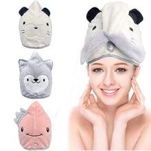 Hair towel for home Microfiber magic wipes Hair cap hair drying towel long Large thickened quick-drying towel for long hair