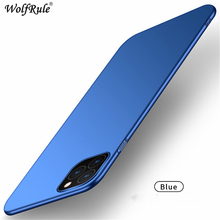 For Cover iphone 11 Pro Max Case Stylish Smooth Skin Ultra Thin PC Matte Phone i11