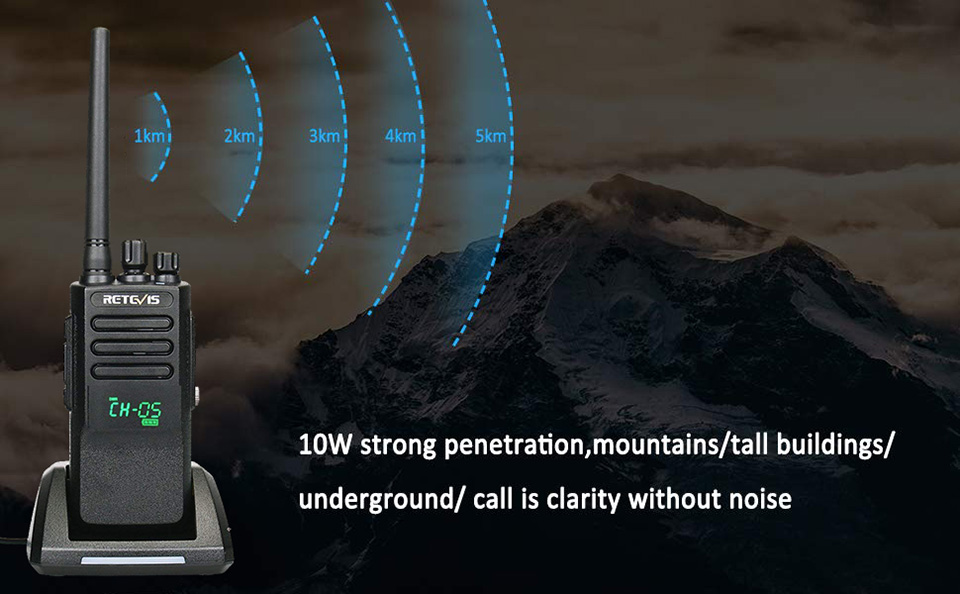 Display UHF  Portable 7