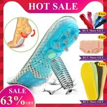 EVA Spring silicone orthopedic shoes sole Insoles flat feet orthotic insoles arc