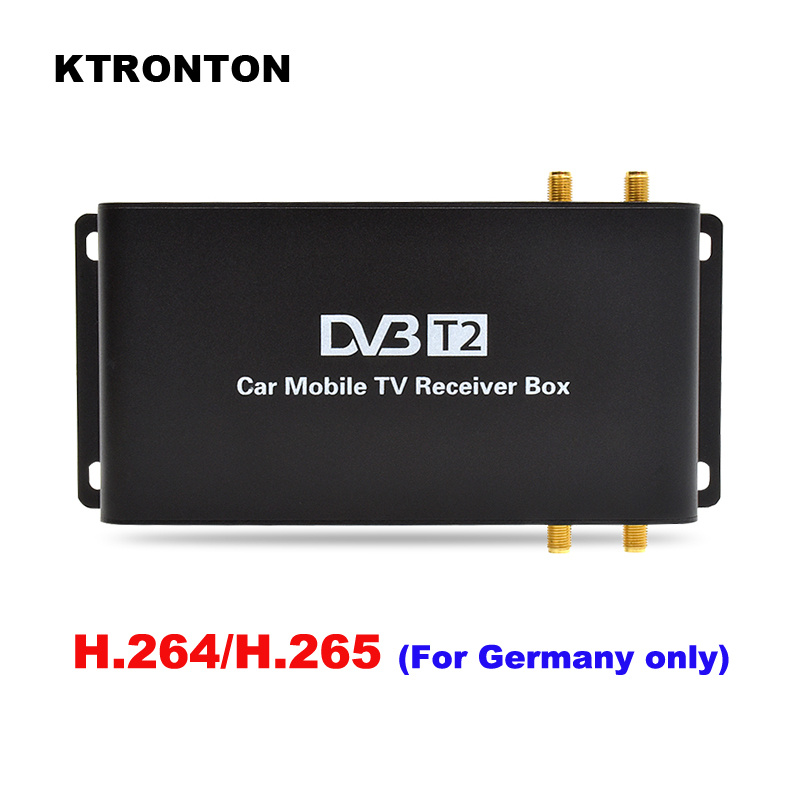 H.264 H.265 180 200 км/ч скорость вождения автомобиля DVB T2 T2 цифровой ТВ приемник коробка 4 антенны четыре мобильных тюнера HD 1080P USB HDMI