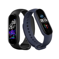 M5 Smart Band Paper Box Package Bluetooth Fitness Tracker M5 Smartwatch Pedometer Call Reminder Heart Rate Watch for IOS Android