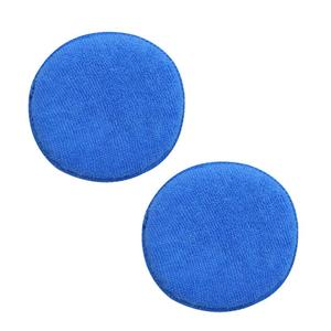 5pcs Soft Microfiber Car Wax Applicator Pad Polishing Sponge 5 inch for Apply and Remove Wax Auto Care Car Wax Sponge