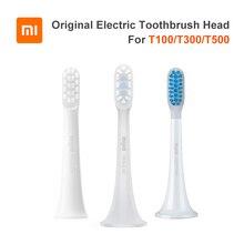 3 sztuk oryginalny XIAOMI MIJIA T100 T300 T500 soniczna szczoteczka do zębów głowice szczoteczki do zębów końcówki zamienne Sonic higiena jamy ustnej Mi Oral Clean