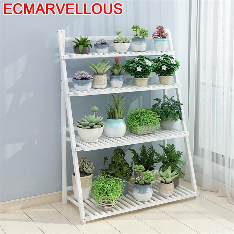 Pot Garden Shelves For Estanteria Table Terraza Estante Para Plantas Stojak Na Kwiaty Rack Outdoor Flower Dekoration Plant Stand