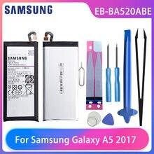 Оригинальный телефон samsung galaxy a5 2017 a520 a520f sm аккумулятор