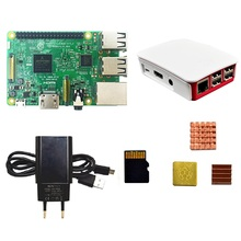 Pi Power-Supply/16-G 3-Board/pi 3-Model-B-Kit Memory-Card/heat-Sink 3-Case/european