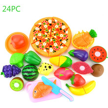 Pretend Play Plastic Food Toy Cutting Fruit Vegetable Food Pretend Play Children for Children Household Gadgets Kids Toys new pretend play plastic food toy cutting fruit vegetable food pretend play kitchen food toy children for children birthday gift