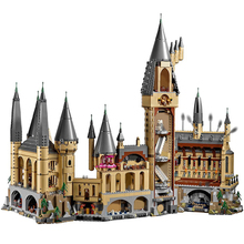 new harry magic hogwarts castle fit legoings harry potter castle city building blocks bricks kid 71043 diy educational toys gift Building Blocks Compatible 71043-1 Hogwarts Castle Technic Bricks Creativity Gifts Fit lepining Diy Toy Christmas Gift