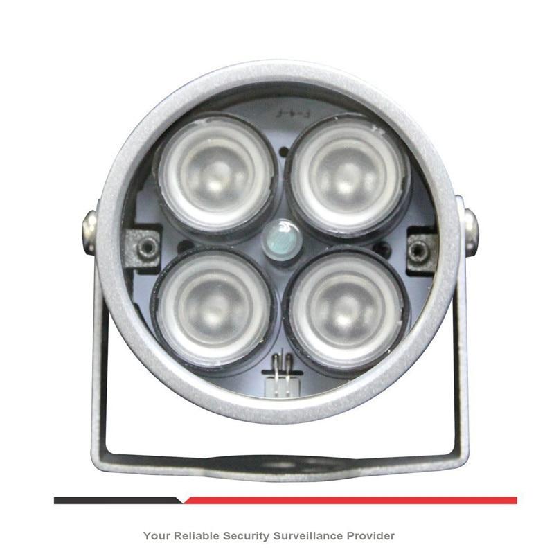 CCTV LEDS 4 Array IR Led Illuminator Light IR Infrared Lamp Waterproof Night Vision CCTV Fill Light For CCTV Camera Ip Camera