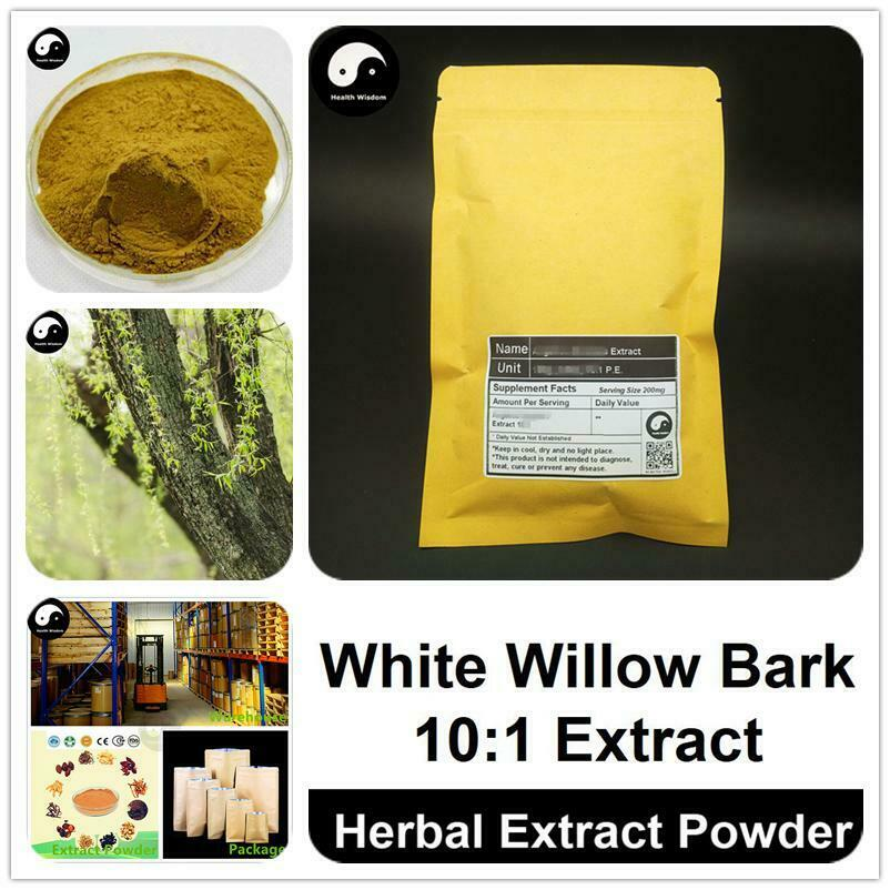 White Willow Bark Extract Powder 10:1, Willow Bark P.E., Bai Liu Pi