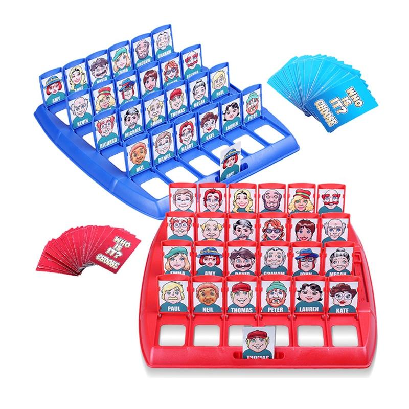Guess Who Quien Es Quien Kids Table Board Toys Memory Games For Children Family Fun Entertainment Juegos Educativos