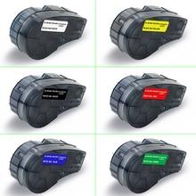 UniPlus M21-500-595 Compatible Brady M21 Vinyl Label Tapes 0.5 inch 12.7mm for Brady BMP21-PLUS IAPAL LABPAL Label Maker WT BK недорого