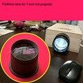 LED projector DIY lens F240mm brandpuntsafstand projectie lens thuis cinama diy lens voor 7 inch projector lcd gratis verzending
