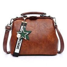 Women Handbag Leather Shoulder Bag Female Doctor Crossbody Hand